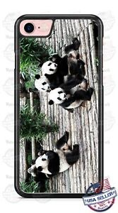 Panda-Bears-Phone-Case-fits-iPhone-X-8-PLUS-Samsung-9-Note-LG-G7-Google-HTC-etc