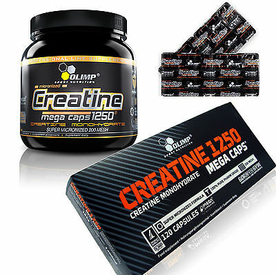 Olimp Creatine  Monohydrate Micronised EXTRA STONG ANABOLIC GROWTH PILLS TABLETS