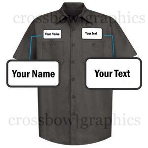 DICKIES-Mens-CUSTOM-Short-Sleeve-Work-Shirt-Classic-Workwear-Uniform-Personalize