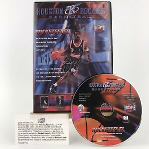 Limited Edition Houston Rockets Basketball Rocket Fuel CD-ROM Rocketsfuel 2001