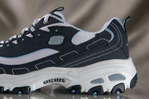 SKECHERS D'LITES Biggest Fan shoes for women Style 11930E NEW US size 9 WIDE