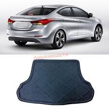 Black Interior Rear Trunk Boot Mat Carpet For Hyundai Avante / Elantra 2012-2015