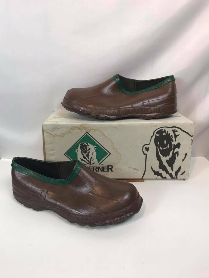 Servus Northerner Mens brown EZ Fit Hi Cut Slide Overshoes 41406 Free US Shipping