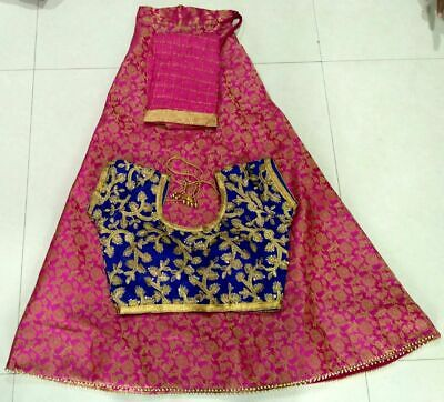 Fully stitched Indian Bollywood Designer Traditional  Lehenga Chaniya Choli