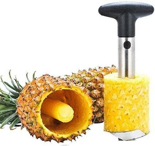 Aliza Stainless Steel Kitchen Pineapple Peeler & Corer Slicer Cutter Fruit Tool