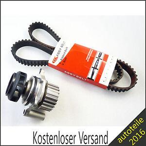 Neu-Keilrippenriemensatz-WASSERPUMPE-fuer-Audi-A3-A4-TT-VW-Golf-Bora-Seat-Leon