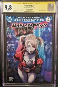 DC-Comics-HARLEY-QUINN-1-CGC-SS-9-8-BATMAN-JOKER-GOTHAM-CATWOMAN-POISON-IVY