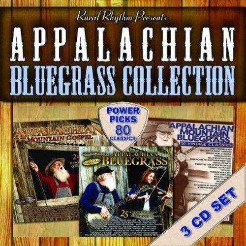 Various Artists - Appalachian Bluegrass Collection - 80 [New CD]