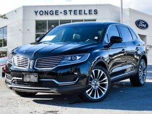 2018 Lincoln MKX Reserve - LEATHER! PANORAMIC ROOF! NAVIGATION!