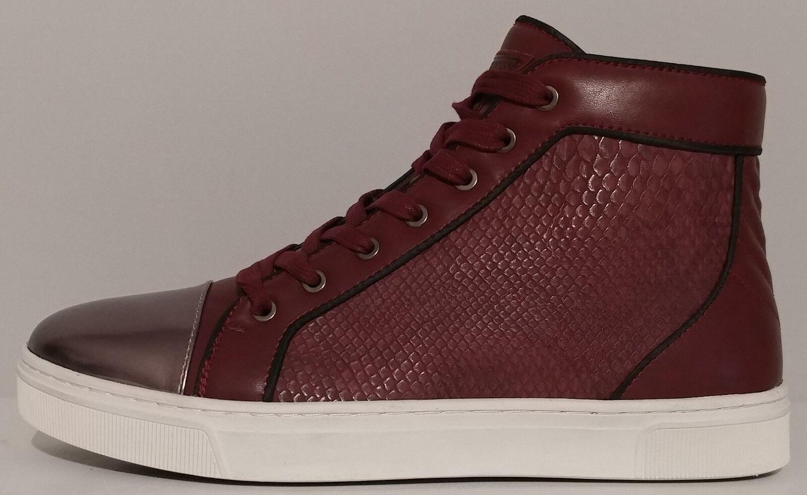 7a454a72 nuevo Para hombres Guess Rojo Cuero High Top gmboden zapatos atléticos  tamaño nos 44M EUR 11M nwisby5113-Zapatillas deportivas