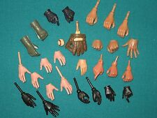 GI JOE Ultimate 21st Century Dragon Sideshow Hot Toys-1/6 Male Hands Gloved LOT