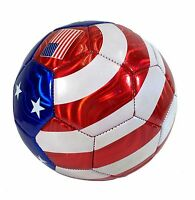 Soccer Usa Flag All Weather Soccer Ball U.s Official Size 5