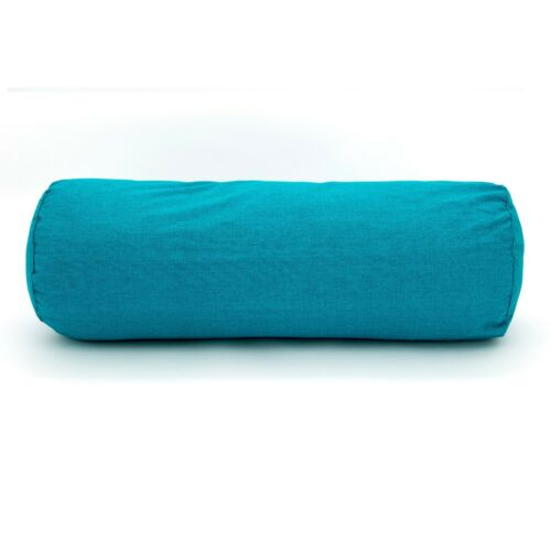 New Duck Feather Bolster Pillow with Case in Various Colours and Sizes S,M,L,XL