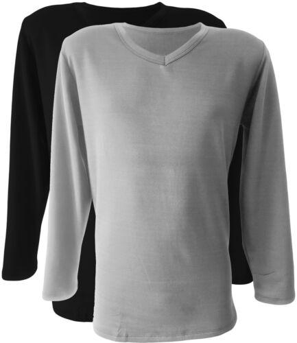 dessous Outdoor thermowäsche Thermo Fonction Sous-vêtements 2x Manches Longues Maillot Corps F