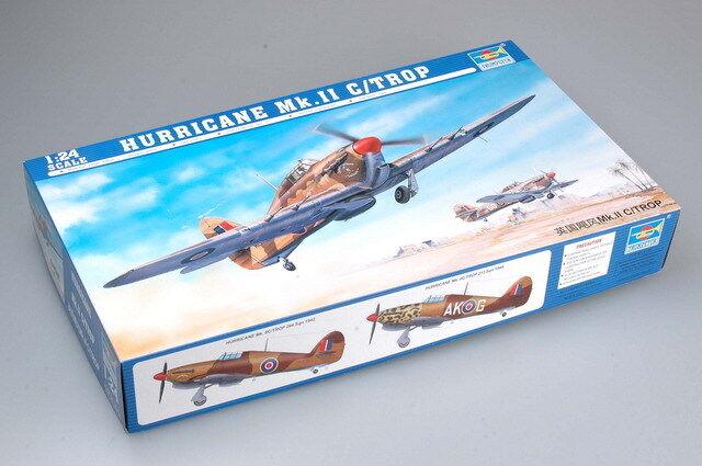 Trumpeter 1 24 02416 Hawker Hurricane Mk.IIC Trop