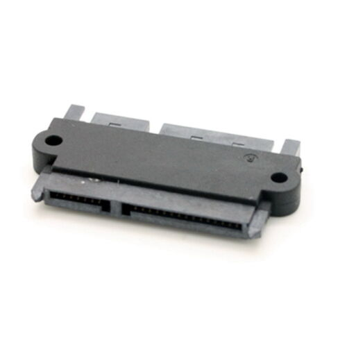 Male to Female 22pin SATA Data Power Extension Convertor Adapter for SSD HDD