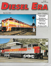 Diesel Era V13 N3 Southern Pacific Alco PA EMC EMD Passenger UP Dolores Facility