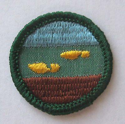 Footsteps Footprint Patch 1963-1980 Girl Scout Junior RAMBLER BADGE Choose Type