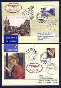 44464) Irlande Ryanair Ff Frdhfn-alicante 27.10.09 Zeppelin Nt à Partir De La Belgique Ga-afficher Le Titre D'origine