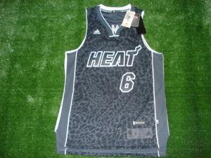 online retailer c3d64 df149 Details about NEW Adidas Miami Heat Lebron James Tech Shift LIMITED EDITION  CHAMPS Jersey RARE