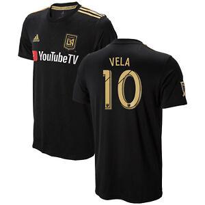 pretty nice be1de 33897 Image is loading adidas-Los-Angeles-FC-LAFC-MLS-2018-Carlos-