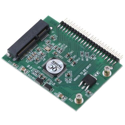 mSATA adapter mSATA SSD to44Pin IDE adapter mSATA IDE converter card forlapt G