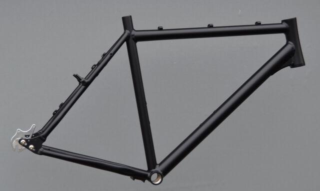 Trekkingrad TWINROAD Rohloff Rahmen Aluminium 50cm in schwarz matt 28