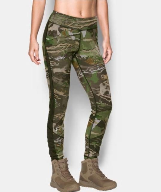 Ua Under Armour Mens Mid Season Reversible Wool Base Leggings