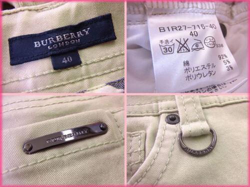 Beige Femme B931 Burberry D'occasion Authentique Pantalon 5RaxAqE
