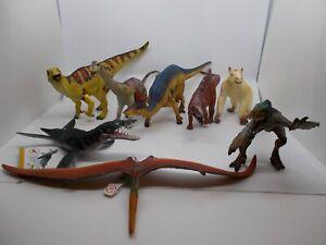 Bullyland-Prehistoric-World-Dinos-Dinosaurier-zum-aussuchen-Velociraptor-usw