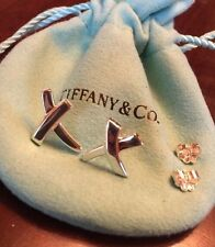 Tiffany & Co. Sterling Silver Paloma Picasso Medium Kiss earrings