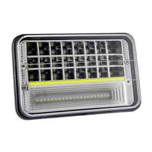 4x6-039-039-CREE-LED-Headlight-Sealed-Beam-DRL-For-Honda-XR250-XR400-XR650-Suzuki-DRZ