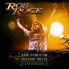 The Voice of Melodic Metal: Live in Atlanta * by Rob Rock (CD, May-2009, 2 Discs, AFM (USA))
