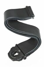 Planet Waves Black Leather Guitar Strap  50mm 50PLL00