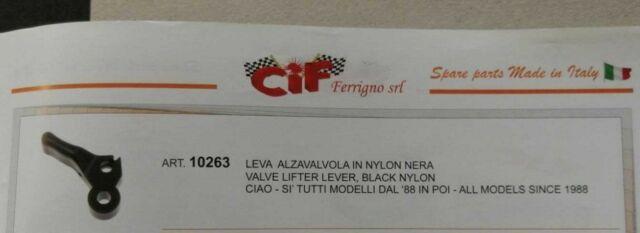 I 0371.07 DOMINO  Leva Alzavalvola Decompresore Aria