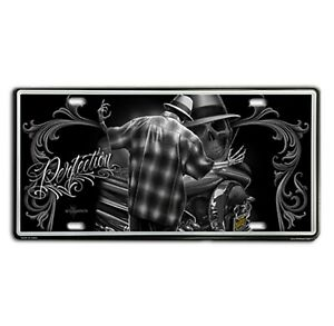 DGA-David-Gonzales-Art-Perfection-Lowrider-Tin-Metal-License-Plate-12-x-6