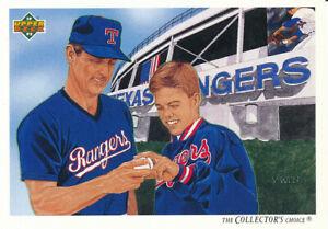 Nolan-Ryan-1992-Upper-Deck-92-Team-Checklist-Texas-Rangers-Baseball-Card