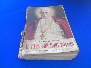 Pierluigi-Occelli-Il-Papa-che-Mori-Povero-Ed-Paoline-1951-3-Edizione