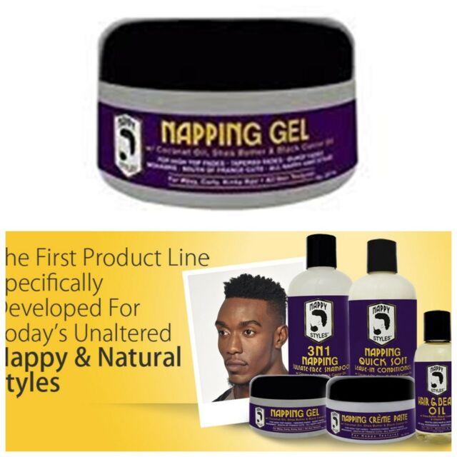 Nappy Styles Napping Gel 8oz