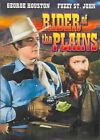 Rider of The Plains Aka The Lone Ride 0089218461698 With George Houston DVD