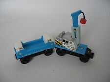 ICE CRANE CAR  Learning Curve  Wooden Train Engine ( Brio Thomas )