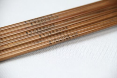 """50x Super Bamboo arrow shafts 45.3/"""" shaft only// varied spine group choice freely"""