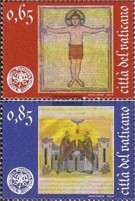 Gestempelt 2010 Apostolische Bibliothek KöStlich Im Geschmack kompl.ausg. Vatikanstadt 1674-1675