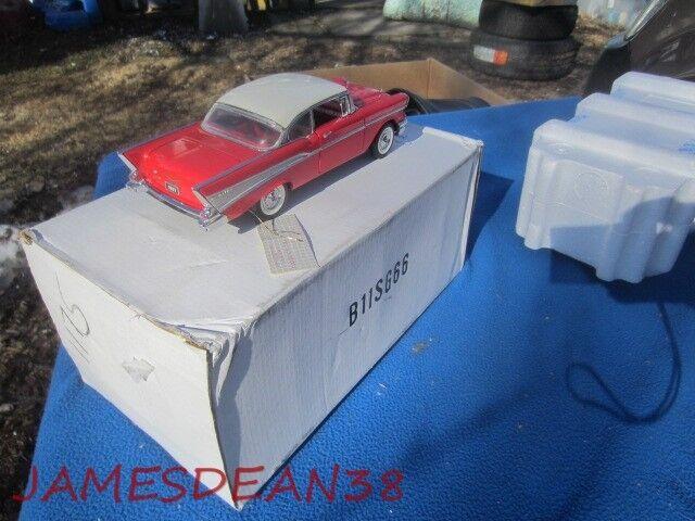 FRANKLIN MINT 1 24 DIECAST DIECAST DIECAST PRECISION MODEL 1957 CHEVROLET BELAIR CAR b6d4ee