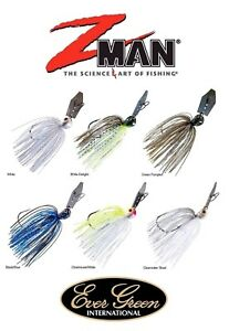 ZMAN-EVERGREEN-JACK-HAMMER-CHATTERBAIT-GAMAKATSU-HOOK-BASS-SELECT-SIZE-COLOR