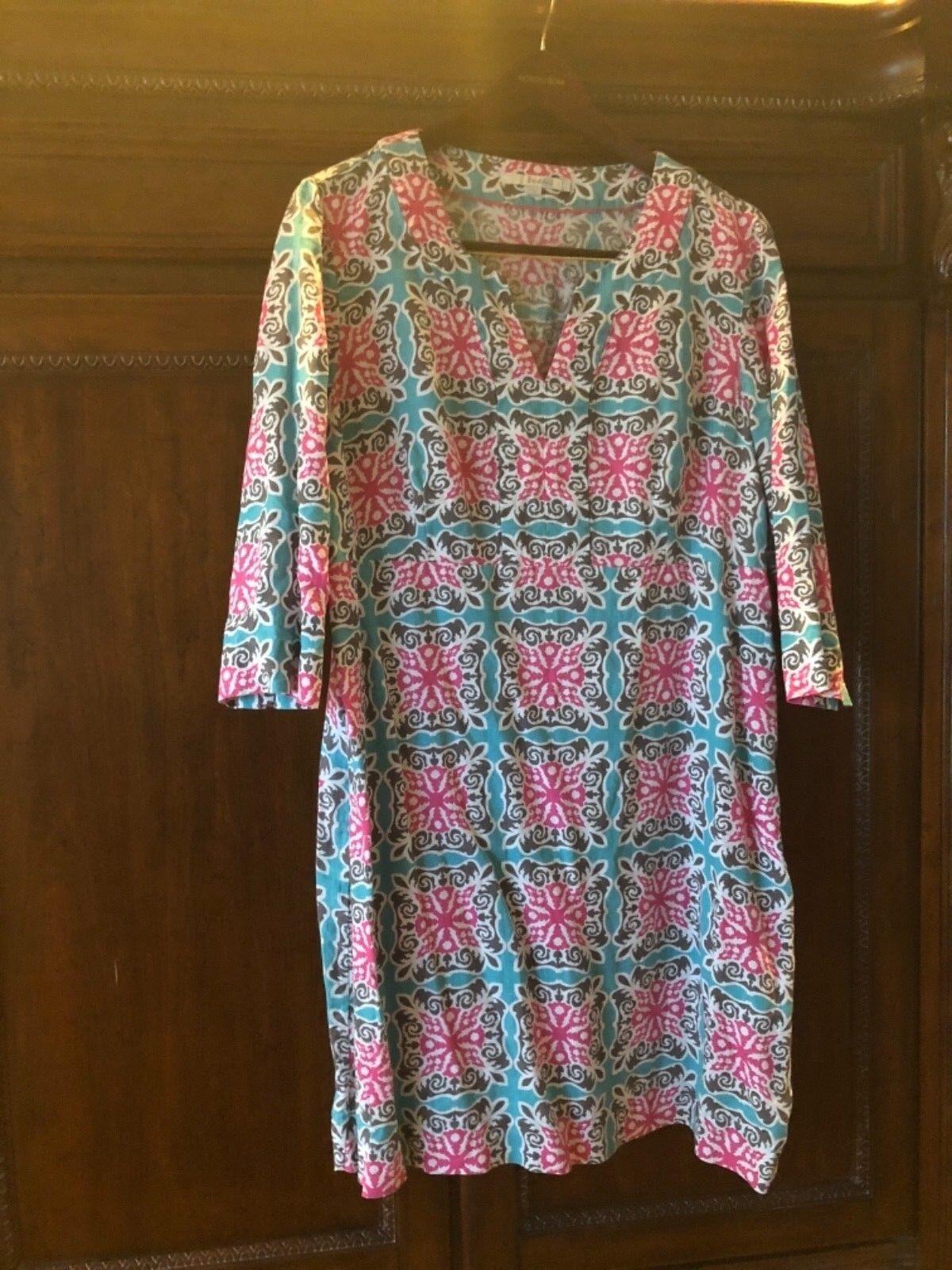 Boden 100% Linen dress Größe 16R