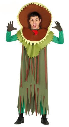 Killer Plant Costume Man Eating Plant Horror Fancy Dress Halloween NEW 38-44