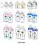 Tommee-Tippee-Closer-150ml-260ml-340ml-Decorated-Bottles-Blue-Pink-Clear thumbnail 1