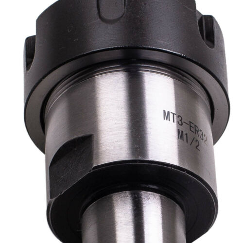 """MT3 Shank ER32 Chuck With 15 PCS Collets 1//8/""""-3//4/"""" Set with Box for CNC Milling"""