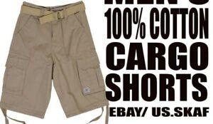 JMC-Men-039-s-NWT-Cargo-Shorts-in-Khaki-Free-Shipping